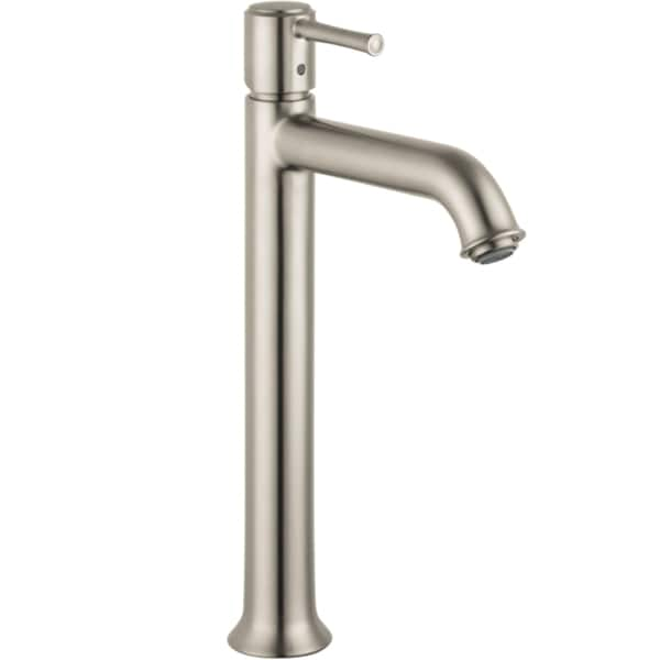 Hansgrohe Talis C Tall Brushed NickelSingle Hole Faucet