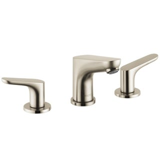 Hansgrohe Focus E Brushed Nickel Widespread Faucet