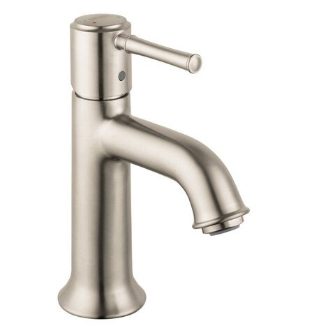 Hansgrohe Talis C Single Hole Faucet Brushed Nickel Faucet