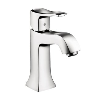 "Hansgrohe Metris C Single-Hole Bathroom Faucet,  Lever Handle - 16.5"" x 9.76"" x 2.87"""