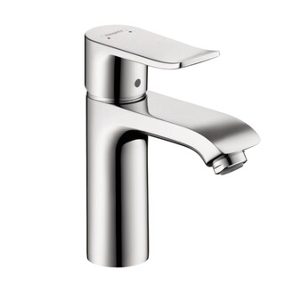 Hansgrohe Metris Single-Hole Bathroom Faucet,  Lever Handle