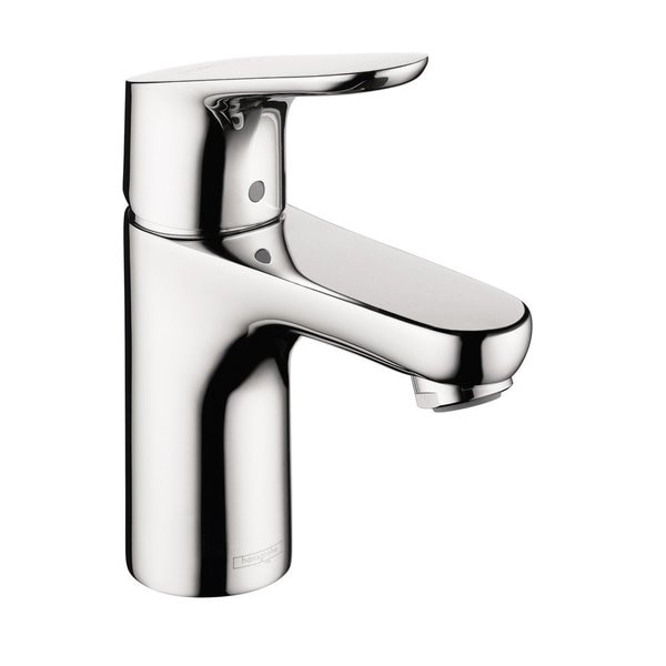 shop hansgrohe focus e 100 single hole chrome faucet free shipping today 9358604. Black Bedroom Furniture Sets. Home Design Ideas