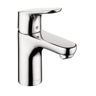 Hansgrohe Focus E 100 Single Hole Chrome Faucet