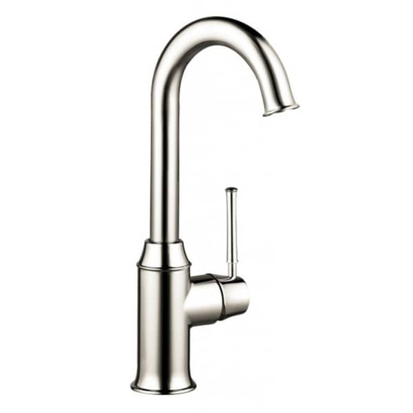 Shop Hansgrohe Talis C Bar Polished Nickel Kitchen Faucet Free