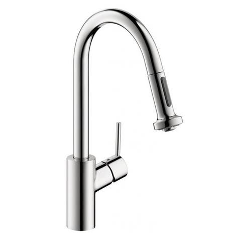 Hansgrohe Talis S 2 Pull-down 2-spray Chrome Kitchen faucet
