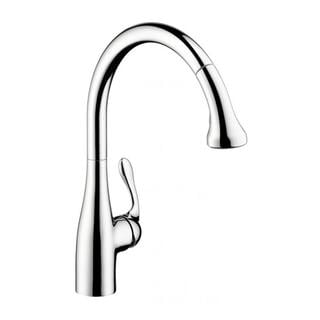 Hansgrohe Allegro E Gourmet Pro Chrome Kitchen Faucet