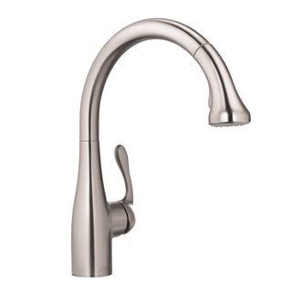 Hansgrohe Allegro E Gourmet Low-flow Steel Optik Kitchen faucet