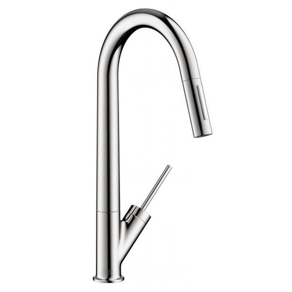 Hansgrohe Axor Starck Higharc Azb Chrome Kitchen faucet