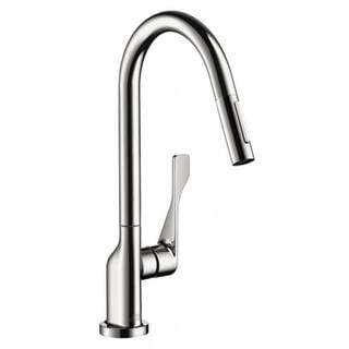 Hansgrohe Axor Citterio Pull Out Chrome Kitchen Faucet
