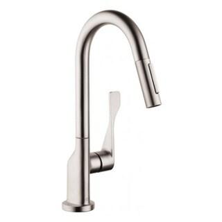 Hansgrohe Axor Citterio Prep Steel Optik Kitchen faucet