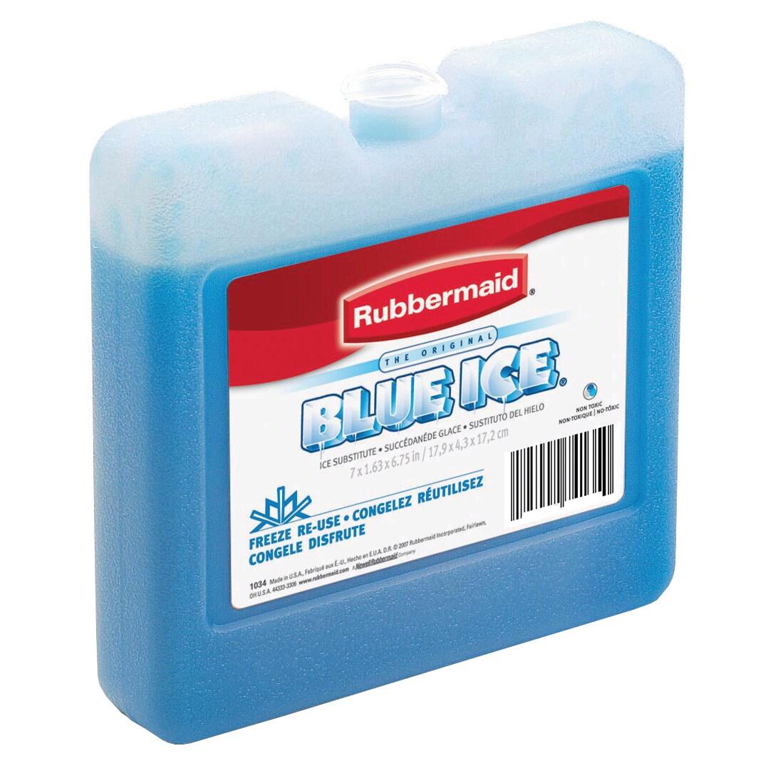 Rubbermaid FG1006TL220 8 X 7 X 1-1//2 Blue Ice® Soft Pack