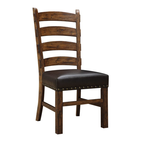 Emerald Home Rustic Ladderback Dining Chair (Set of 2) - Shop Emerald Home Rustic Ladderback Dining Chair (Set Of 2) - Free