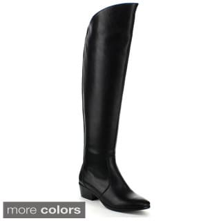 Refresh Women's 'Paco-03' Over-the-Knee Riding Boots