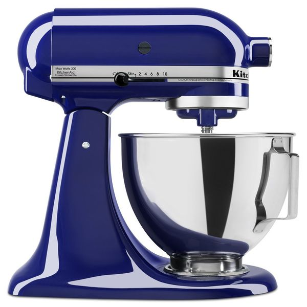 shop kitchenaid ksm85pb 4 5 quart tilt head stand mixer free rh overstock com