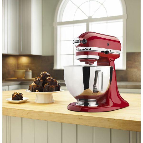 KitchenAid KSM85PBER Empire Red 4.5-quart Tilt-head Stand Mixer
