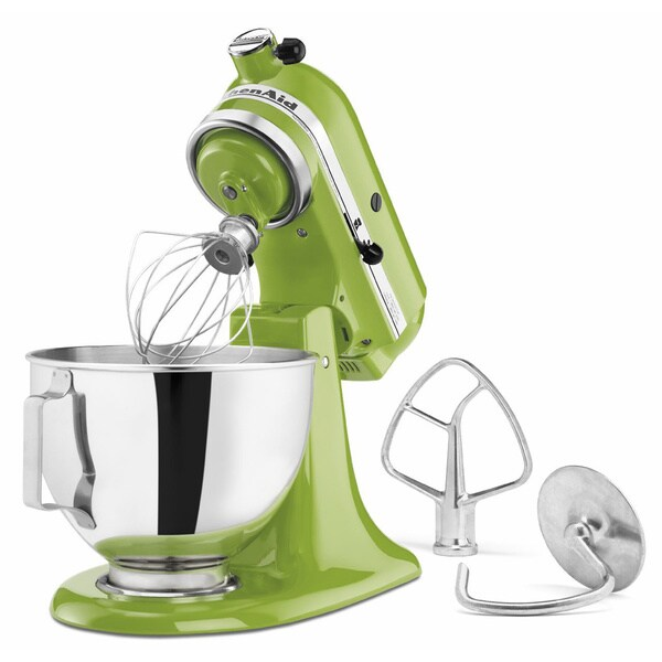 Plain Kitchenaid Green Mixer Apple Tilthead Stand On Decor