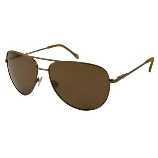 Fossil Men's Biff Polarized/ Aviator Sunglasses