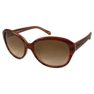 Fossil Women's Misty Rectangular Sunglasses