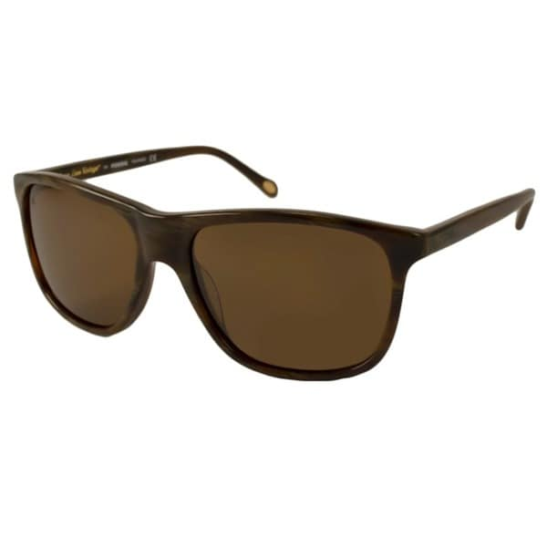 f6a669dec48 Shop Fossil Men s Arnold Polarized  Rectangular Sunglasses - Free ...
