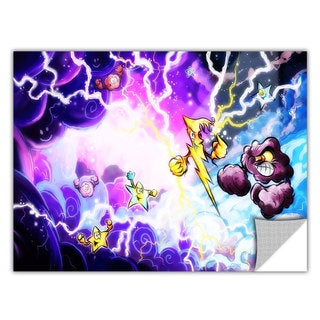 ArtApeelz Luis Peres 'Thunder' Removable wall art graphic