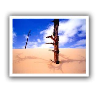 Dean Uhlinger 'Oregon Dunes Noon' Unwrapped Canvas