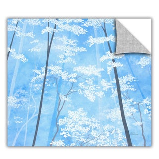 ArtApeelz Herb Dickinson 'Spring Forest 1' Removable wall art graphic