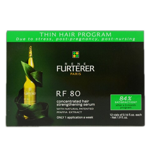 Rene Furterer RF 80 0.16-ounce Concentrated Serum for Thinning Hair (12 Vials)