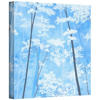 Herb Dickinson 'Spring Forest 1' Gallery-wrapped Canvas