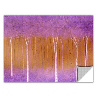 ArtApeelz Herb Dickinson 'Cotton Candy Forest' Removable wall art graphic