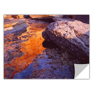ArtApeelz Dean Uhlinger 'Sunset Cliffs Reflection' Removable wall art graphic