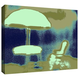 Dean Uhlinger 'Summer through the Screen' Gallery-wrapped Canvas