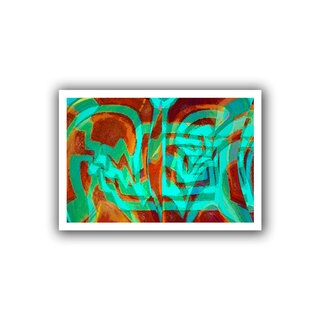 Dean Uhlinger 'Bilh' Unwrapped Canvas