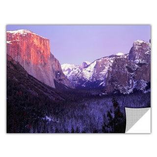 ArtApeelz Dean Uhlinger 'Yosemite Valley Winter' Removable wall art graphic