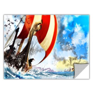 ArtApeelz Luis Peres 'Old Times 3' Removable wall art graphic