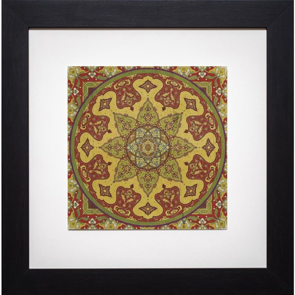 Paula Scaletta 'Bukhara I' Framed Artwork - Brown