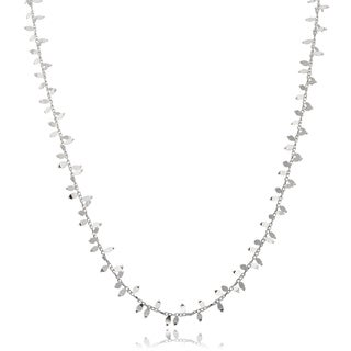 Journee Collection Sterling Silver Small Pendant Necklace