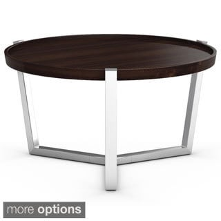 Made To Order Cirque Round Maple Cocktail Table