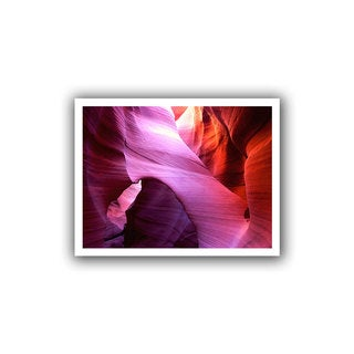 Dean Uhlinger 'Antelope Bridge' Unwrapped Canvas