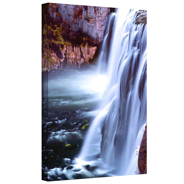 Dean Uhlinger 'Mesa Falls Morning' Gallery-wrapped Canvas - Multi