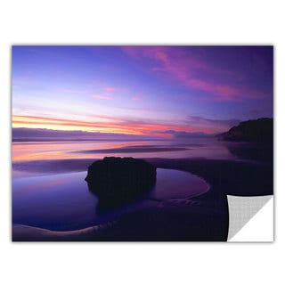 ArtApeelz Dean Uhlinger 'Bandon Beach Twilight' Removable wall art graphic