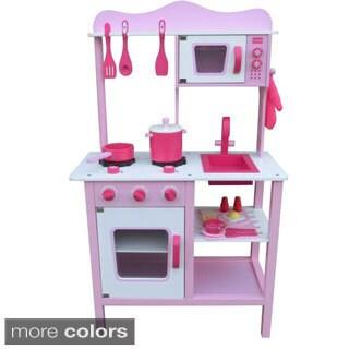 Merske Upright Wooden Play Kitchen