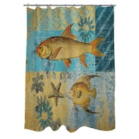 Caribbean Cove IV Shower Curtain
