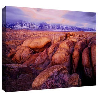 Dean Uhlinger 'Sierra Dawn Storm Light' Gallery-wrapped Canvas