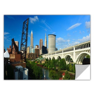 ArtApeelz Cody York 'Cleveland 11' Removable wall art graphic
