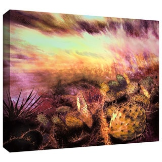 Dean Uhlinger 'A Southwest Wind' Gallery-wrapped Canvas