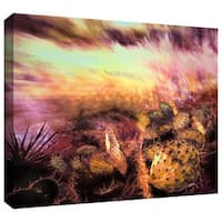Dean Uhlinger 'A Southwest Wind' Gallery-wrapped Canvas - Multi