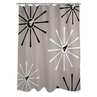 Fifties Patterns IV Shower Curtain