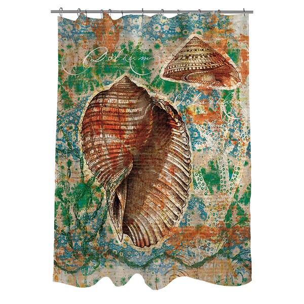 Coastal Motif II Shower Curtain