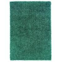 Linon Confetti Turquoise Area Rug (8' x 10') - 8' x 10'