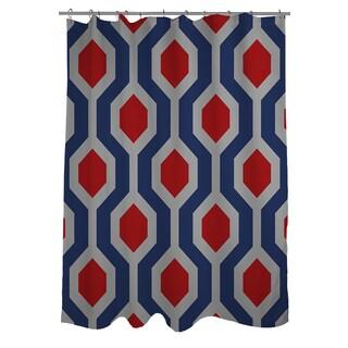 Thumbprintz Carpet Grey Shower Curtain